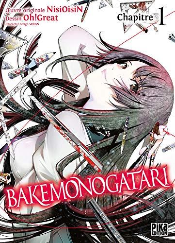 Couverture du livre Bakemonogatari Chapitre 01