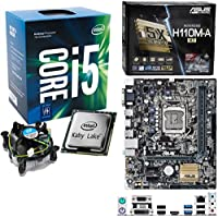 INTEL Kaby Lake Core i5 7400 3.0Ghz (Turbo 3.5Ghz) CPU, ASUS H110M-A/M.2 Motherboard Pre-Built Bundle NO RAM