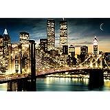 GB eye 61 x 91.5 cm New York Manhattan Lights Maxi Poster, Assorted