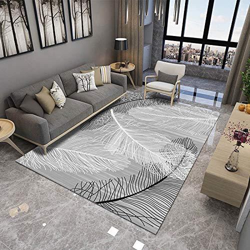 xcvb Einfache und Moderne Feder Wohnzimmer Schlafzimmer Teppich Kind Nachtdecke Modell Zimmer Erker Fenstermatte Bodenmatte