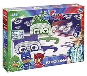 Totum PJ Máscaras 320024PJ Máscaras Máscaras de holograma, multicolor