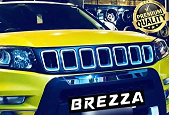 Dossvick Jeep Style Front Grill for Brezza