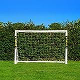 Net World Sports Forza - 1,8 x 1,2 m wetterfestes Fußballtor. Neu: auch mit Abnehmbarer Torwand bestellbar (Forzator 1.8x1.2m)