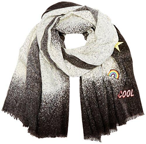 CODELLO Damen 72093811 Schal, Schwarz (Black 7), One size (Herstellergröße: 90X180 cm)