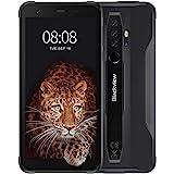 Móvil Resistente, Blackview BV6300 Pro Android 10 Smartphone 4G con Cámara Cuádruple 16MP+13MP, Helio P70 Octa-Core, 6GB+128G