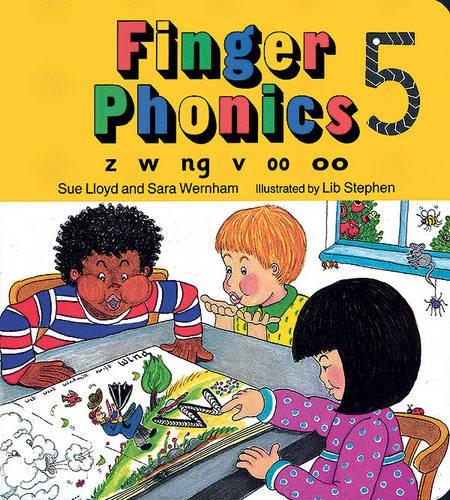 Finger phonics book Per la Scuola elementare Con espansione online: 5 (Jolly Phonics: Finger Phonics)