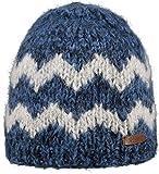 Barts - Douro Beanie , Cappello da donna, bicolore blu e grigio, UNI