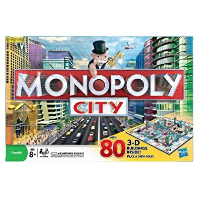 Hasbro – 01790 – Monopoly City (Version Anglaise)
