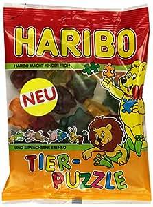 HARIBO Tier-Puzzle 200 g Beutel, 18er Pack (18 x 200 g)