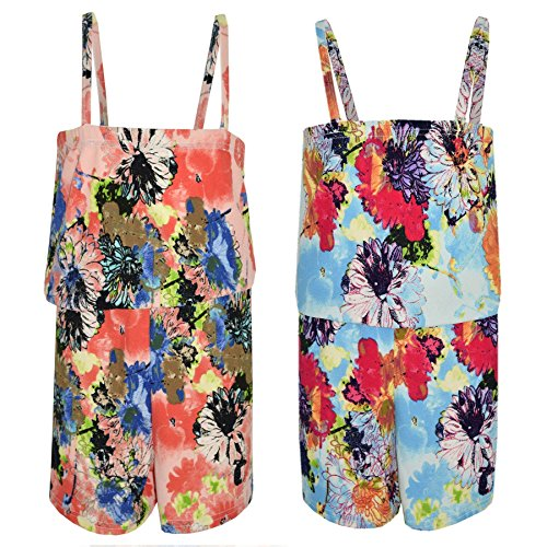 eBook Downloads For Android Free A2Z 4 Kids® Girls Playsuit Kids Floral Print Jumpsuit All In One Playsuits New Age 7 8 9 10 11 12 13 Years