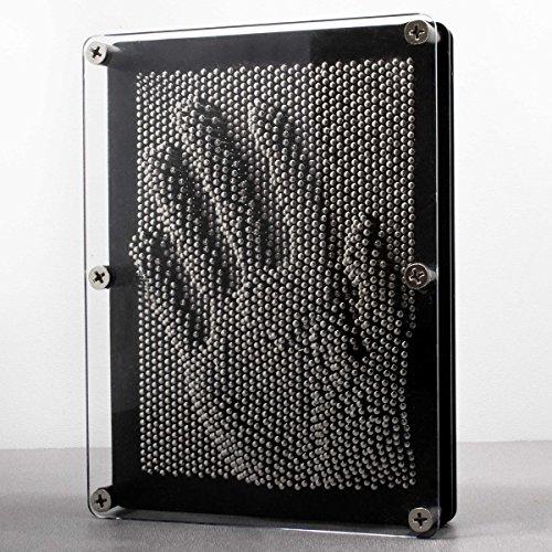 3D Nagelbild Pinart Bild Pinpressions Skulptur Retro Spielzeug mit Metallnägeln 20 x 15 cm