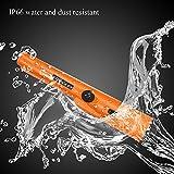 KKmoon Metalldetektor Pinpointer Pinzeiger Probe mit Holster, IP66 Wasserdichte Schatzsuche Ausgraben Werkzeug Zubehör, Summer Vibration Automatische Tuning, 360° Scan Erfassungsbereich - 7
