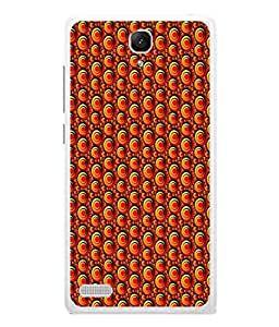 Fuson Designer Back Case Cover for Xiaomi Redmi Note :: Xiaomi Redmi Note 4G :: Xiaomi Redmi Note Prime (Golden Spiral Circles All Age Fantastic Boy Girl)
