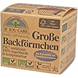 If You Care Backförmchen Groß - für Muffins 100% ungebleicht; FSC Papier, 2er Pack (2 x 60 Stück)