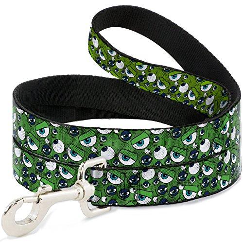 onsters Inc. Eye Collage verwitterter grünen/Blues Hund Leine 2,5cm breit (Blue Monster Aus Monsters Inc)