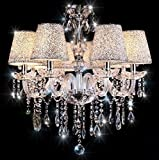 Chandelier with Lamp Shades