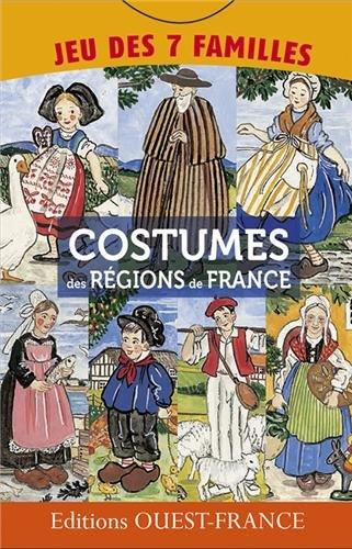 Jeu 7 familles costumes de France par Ouest-France