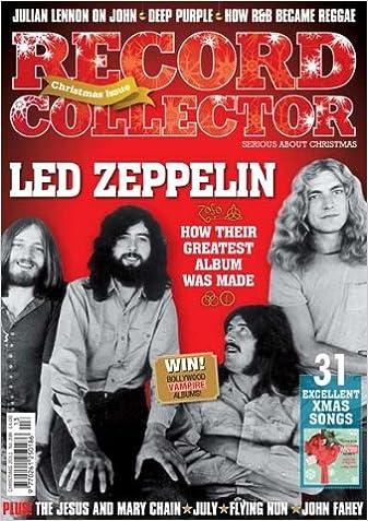 record collector 396 christmas 2011 led zeppelin amazoncouk ian shirley tim jones spencer grady andy fyfe ian mccann harry hawke dave lewis - Led Zeppelin Christmas