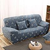 Dehnbarer, rutschsicherer und elastischer Sofa-Schonbezug aus Polyester. Für Einsitzer, Zweisitzer und Dreisitzer., Type:B, 2-Sitzer