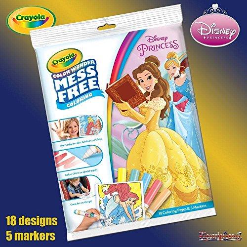 B-Creative Disney Princess Farbe Wunder Chaos Free Magic Färbung Buch & Pens gesetzt