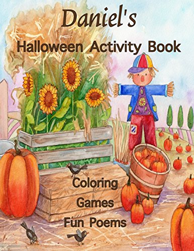 ctivity Book: (Personalized Book for Children), Games: mazes, crossword puzzle, connect the dots, coloring, & poems, Large Print ... gel pens, colored pencils, or crayons ()