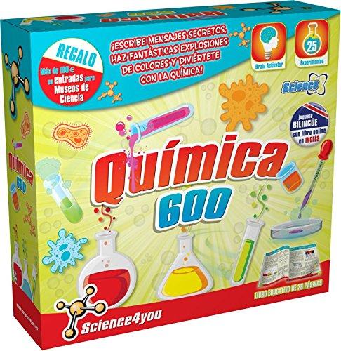 SCIENCE4YOU - QUIMICA 600 - JUGUETE CIENTIFICO Y EDUCATIVO
