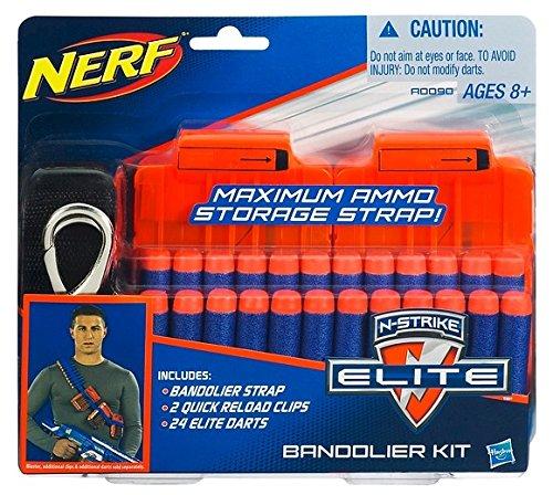 Hasbro Nerf A0090983 - N-Strike Elite Bandolier Kit, Nerf Zubehör