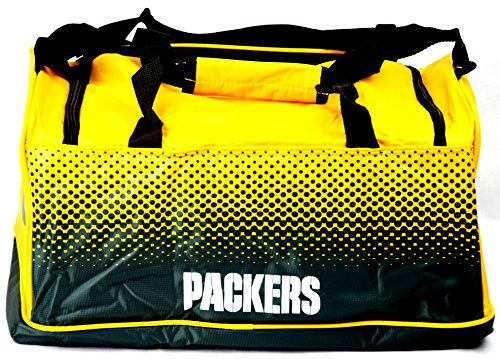 NFL FADE SMALL HOLDALL BAG (Green Bay Packers)