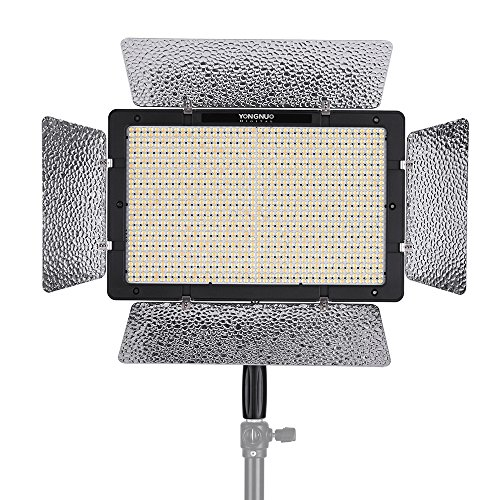 YONGNUO YN1200 Pro LED Video Light 5500K Photography and Video Recording Fill Light w/ 2Pcs CT Filters & Remote Controller Adjustable Brightness CRI≥95 Support APP Remote Control Studio Lighting -