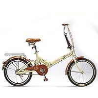 Vélos pliants Pliant Ultraléger Adulte Vélo Femmes Adultes De Travail Portable Ultra-léger Adulte Hommes, Petite Vitesse…