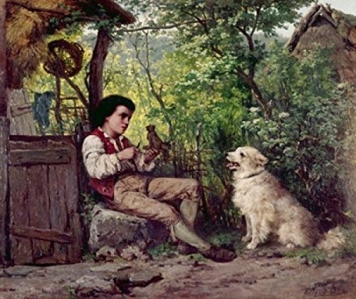ernst-bosch-young-boy-whittling-by-ernst-bosch-1834-1917-artistica-di-stampa-6096-x-9144-cm