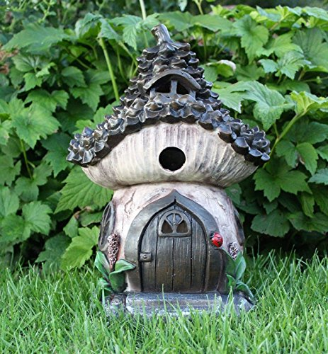 Home Hütte Solar Garden Decor groß Fairy House Pixie Tannenzapfen Outdoor Ornament Home - Home Tannenzapfen
