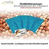 Großes Kirschkernkissen/Entspannungskissen zur Wärmebehandlung - Heizkissen für Mikrowelle (Wärmekissen) // langes Relaxkissen // Zur Wärme- oder Kältetherapie/in 18 Farben! (türkis)