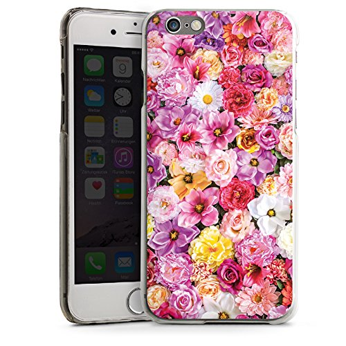 Apple iPhone 5s Housse Étui Protection Coque Mer de fleurs Fleurs Fleurs CasDur transparent