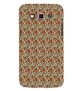 PrintVisa Designer Back Case Cover for Samsung Galaxy Grand Neo Plus I9060I :: Samsung Galaxy Grand Neo+ (Girly Pattern Tribal Floral Fabric Culture Rajastan Andhra)