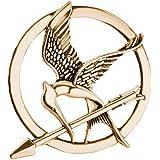 LAVALINK Los Juegos del Hambre Broche Aves Flecha Logotipo Distintivo De La Joyería De La Vendimia De La Manera De Animales D
