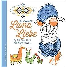 Ausmalbuch Lama