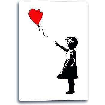 Amazon.de: 3050 Kunstdruck, Motiv Banksy - Mädchen mit
