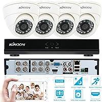KKmoon 8ch Canale Completo 960H/D1 800TVL CCTV Sorveglianza DVR Sistema