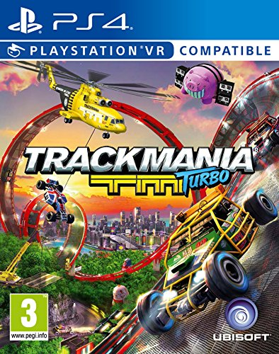 TrackMania Turbo PS4 compatible con VR
