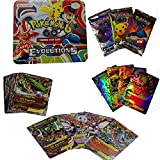 #7: Pokemon Evolutions Big Flat Tin with Mega EX cards and Booster packs (Multicolor)