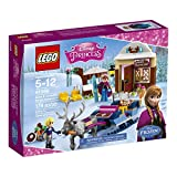 #2: Lego Disney Princess Anna and Kristoff's Sleigh Adventure, Multi Color with Free Santa's Visit