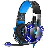 سماعات رأس ستيريو للألعاب G2000 مع ميكروفون لأجهزة بلاي ستيشن 3 - إكس بوكس ون 360 - ماك بوك - أزرق
