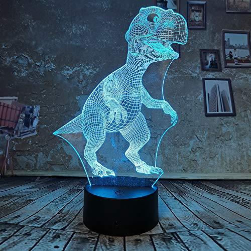 Neuheit Drache 3D Dinosaurier Nachtlicht Kind Nachttischlampe Kreative Touch Light Cartoon Geburtstag Party Decor Schlafzimmer Nachtlicht Augenschutz Modus ## 9