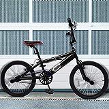 Jago BMX | Freestyle, con Cerchioni da 20 Pollici, Rotazione del Manubrio a 360°, 4 pegs | Bicicletta, Bike, Bambino, Bici