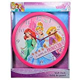 Orologio da parete 24cm per bambini ragazzi e ragazze Disney Princess Dory Marvel Avengers Spider Man Principesse Disney