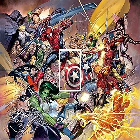 Diseño de Thor de Capitán América adhesivo para interruptor de luz para niños/en forma de cubo