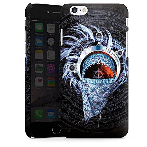Apple iPhone X Silikon Hülle Case Schutzhülle Enigma La puerta del Cielo Muster Premium Case matt