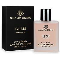Bella Vita Organic Glam Perfume for Women Fresh and Romantic, 100 ml