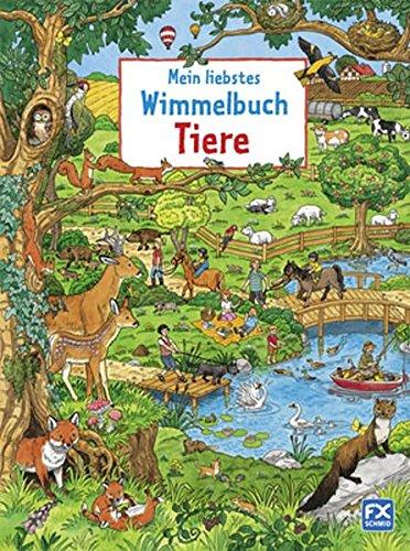 Preisvergleich Produktbild Mein liebstes Wimmelbuch Tiere